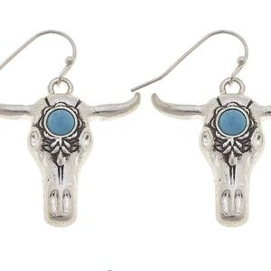 NWT***BOUTIQUE*** GORGEOUS STEER EARRINGS